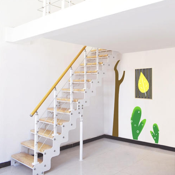 别墅双梁楼梯
