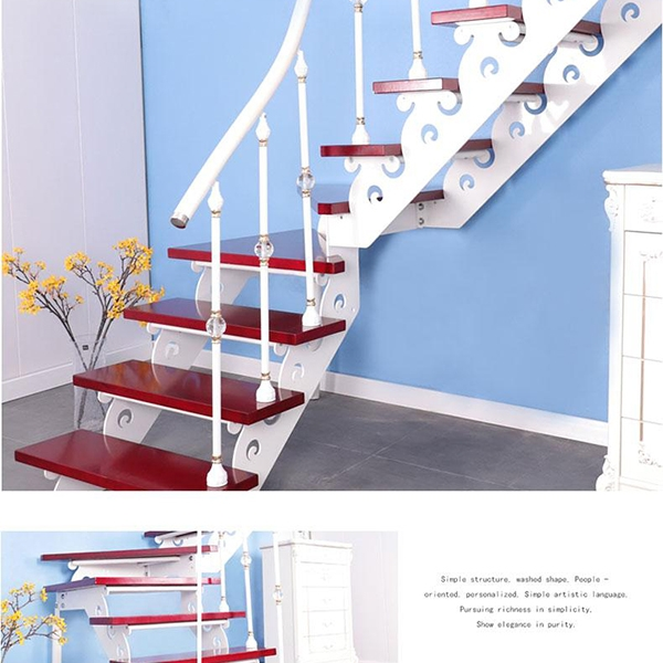 家用双梁楼梯