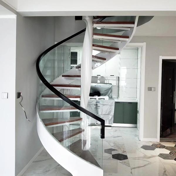 弧型卷板梯