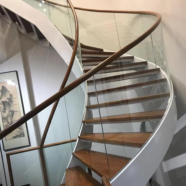 室内卷板楼梯