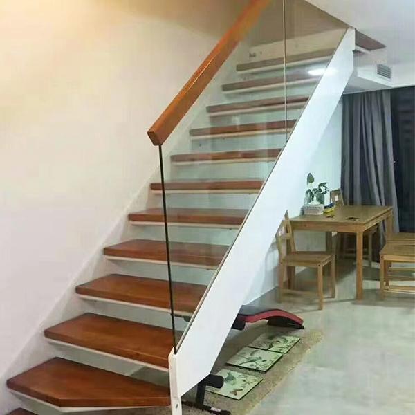 霸州双梁玻璃楼梯