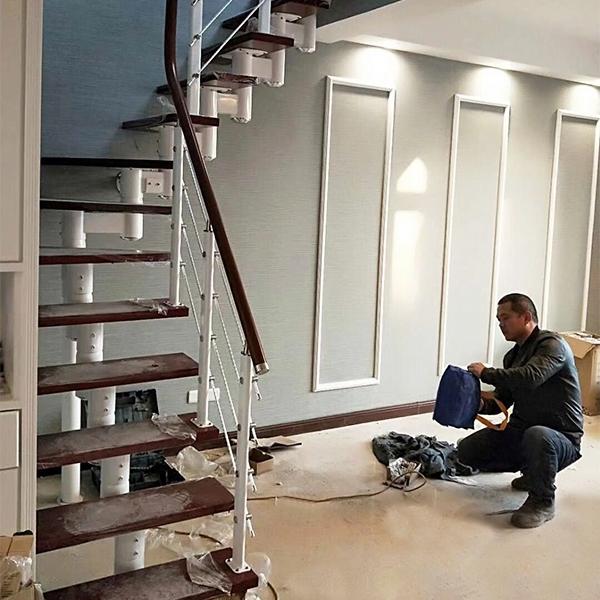家用缩颈楼梯
